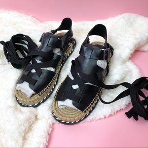 NEW Matisse tabi tie espadrille Sandals